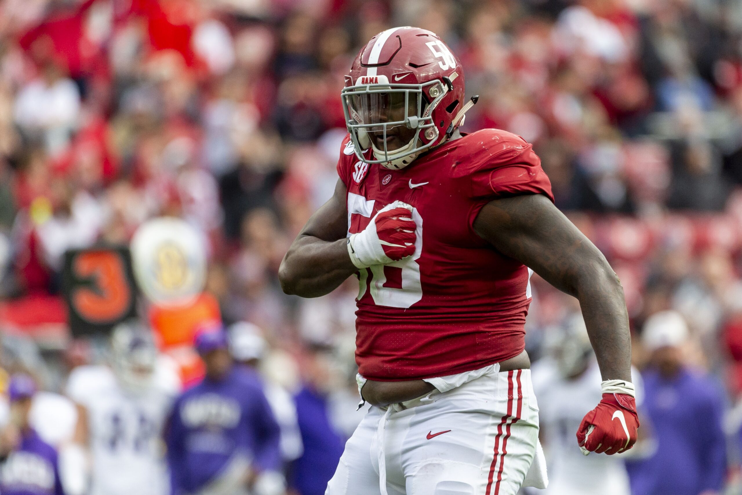 Christian Barmore - NFL Draft Prospect from Alabama