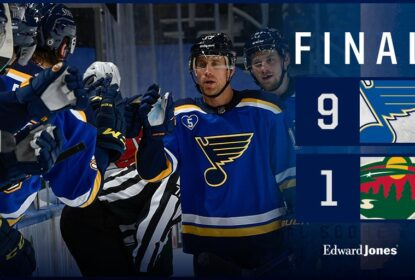 Com hat trick de O'Reilly, Blues aplicam goleada histórica contra o Wild - The Playoffs