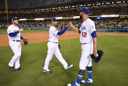 Dodgers buscam virada contra Rockies e seguem invictos em L.A. na temporada - The Playoffs