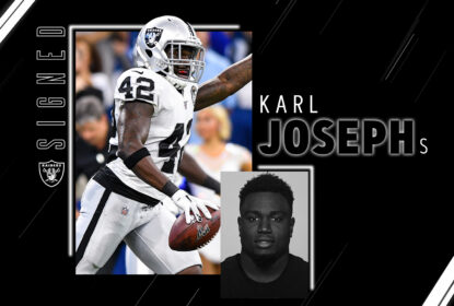 Raiders assinam com free agent Karl Joseph - The Playoffs