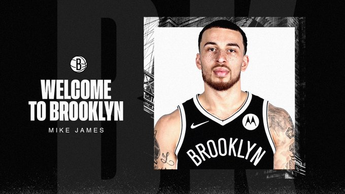 Mike James nos Nets