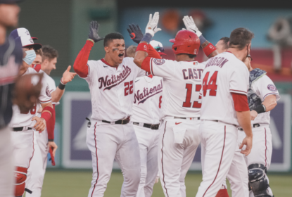 Nationals finalmente estreiam e vencem Braves com rebatida de Soto - The Playoffs