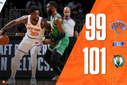 Boston Celtics vence New York Knicks em confronto direto no Leste - The Playoffs