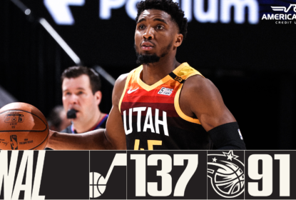 Utah Jazz massacra Orlando Magic e alcança nona vitória consecutiva - The Playoffs
