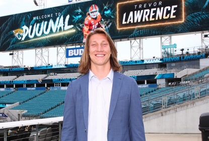 Trevor Lawrence participará de forma limitada do rookie minicamp dos Jaguars - The Playoffs