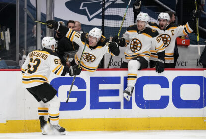 Com gol de Marchand, Bruins batem Capitals e empatam a série no jogo 2 - The Playoffs