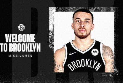 Brooklyn Nets contrata Mike James até o final da temporada 2020-21 - The Playoffs