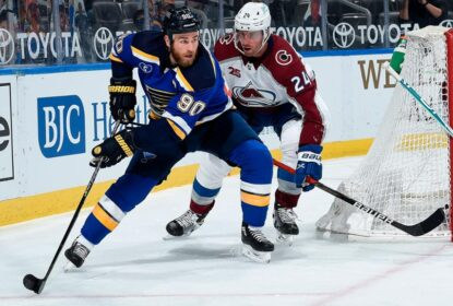 Ryan O'Reilly afirma que os Blues 'vão bater' o Avalanche nos playoffs - The Playoffs