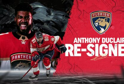 Panthers renovam contratos de Anthony Duclair e Gustav Forsling - The Playoffs