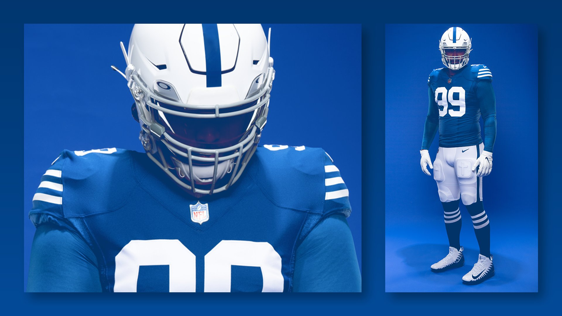 Indianapolis Colts uniforme retro throwback jersey NFL 2021